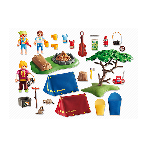 Playmobil® 6888 Campamento con fogata LED - Toy Clicks
